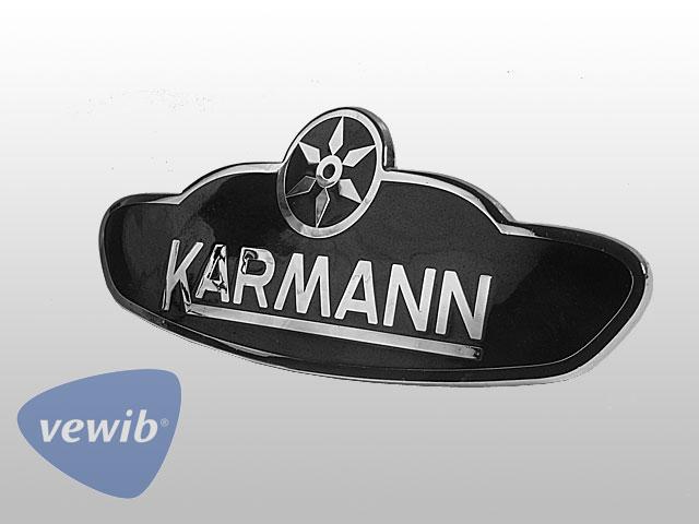 Karmann-Emblem für Käfer Cabrio