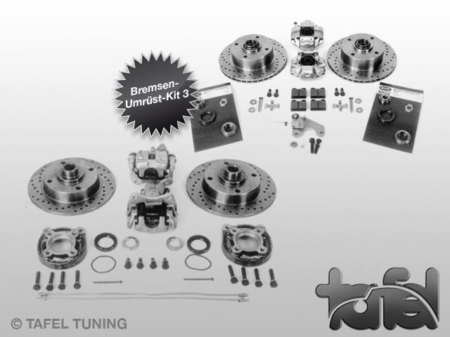 Bremsen-Umrüst-Kit III 4-Loch/LK130