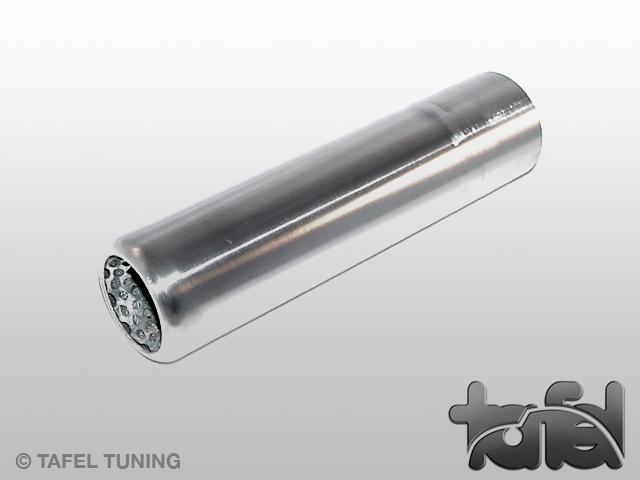 Endrohr Edelstahl poliert mit 45/35mm Außen/Innen-