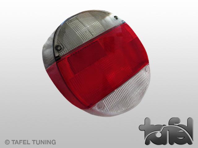 Rücklichtglas 8/72- grau/rot/weiß HELLA
