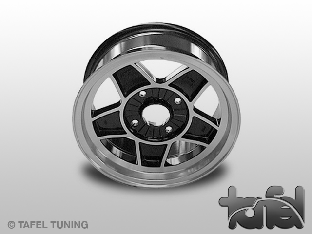 Alu-Felge ATS 7Jx15 ET16 schwarz poliert 4/130
