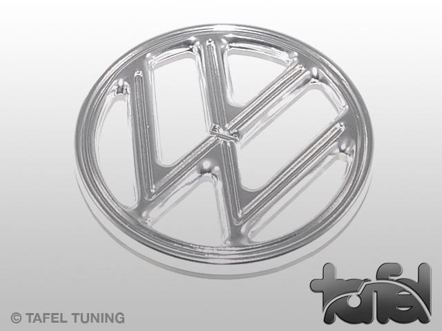 VW-Zeichen für Kofferraumhaube chrom 1961-1962