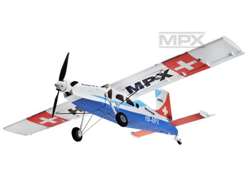 Multiplex PILATUS PC-6 blue