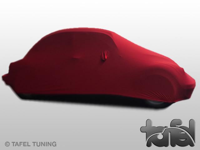 Autodecke für VW Käfer Mikrokontur rot